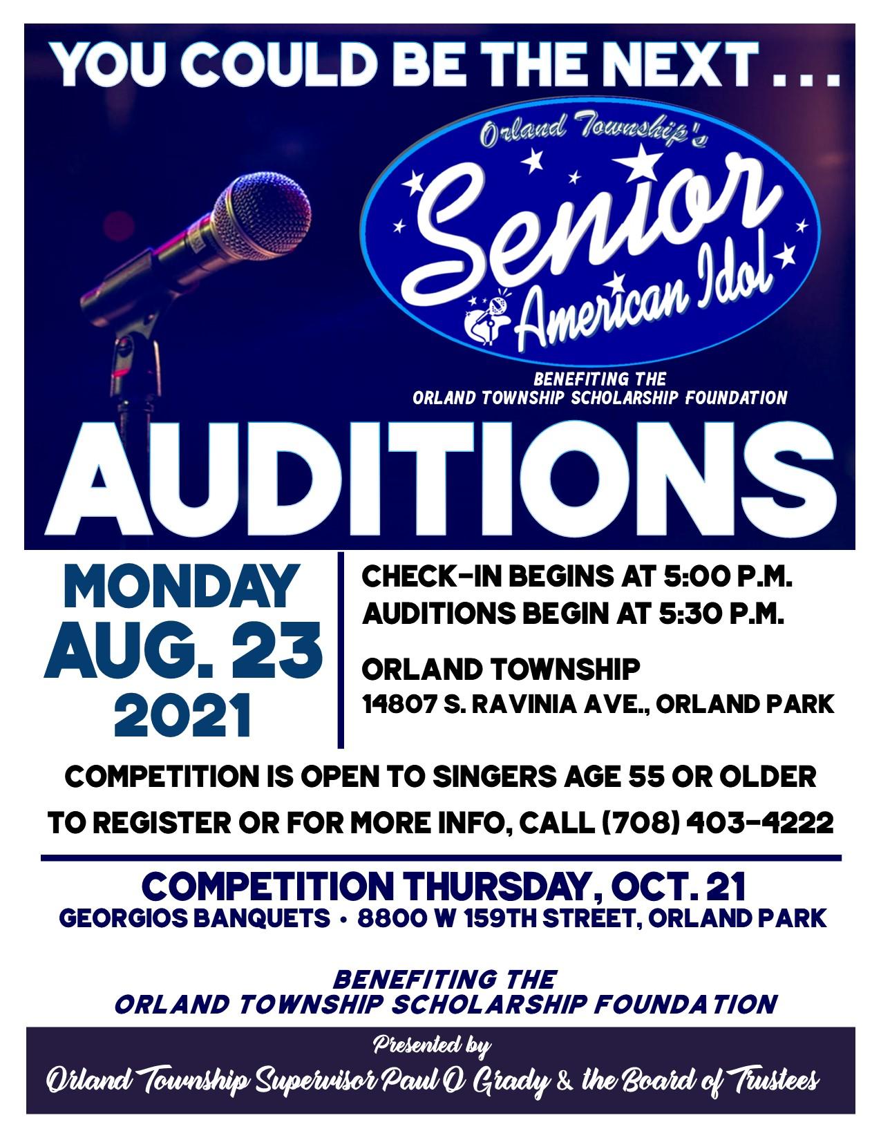 Orland Township Senior American Idol